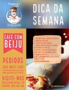 Café com Beiju na Huguenot's Café